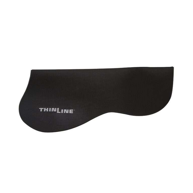 Thinline Half Pad - Untrimmed Black