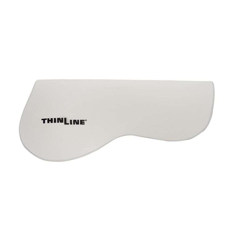 Thinline Half Pad - Untrimmed White