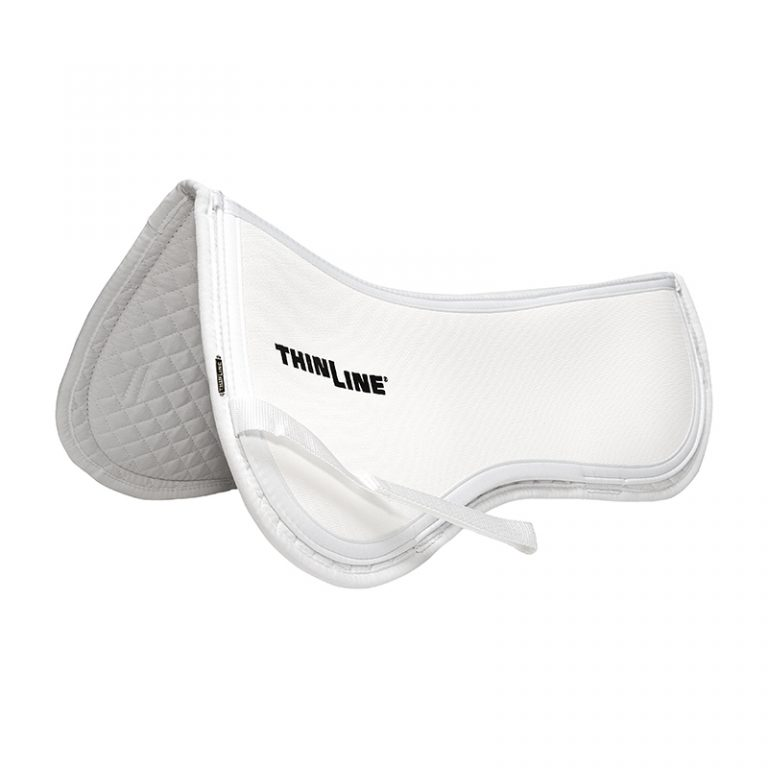Thinline Cotton Trifecta Half Pad White
