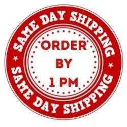 same day shipping logo