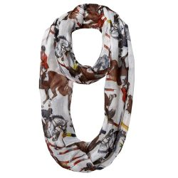 Lila Infinity Show Jumping Scarf