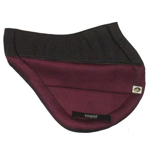 ECOGOLD® Secure™ XC Saddle Pad Burgundy
