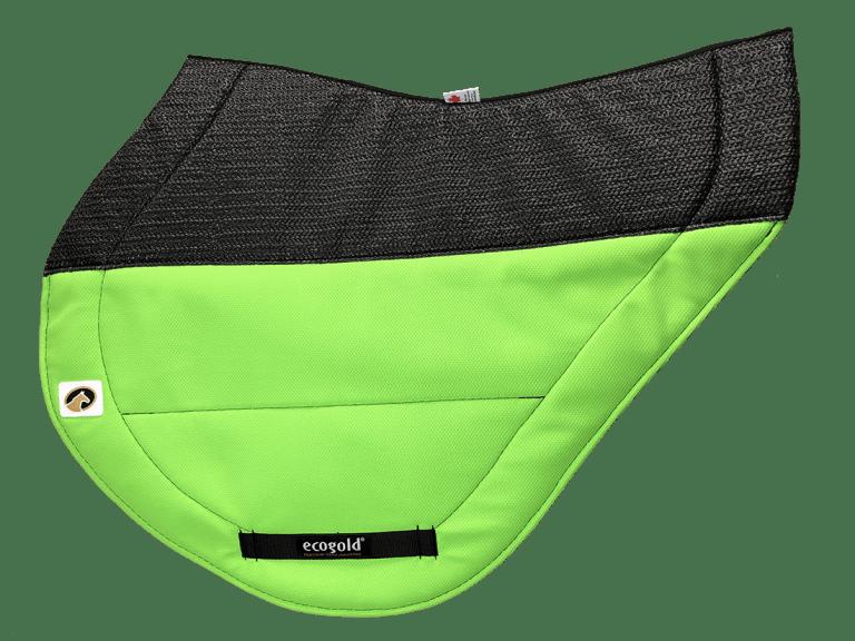 ECOGOLD® Secure™ XC Saddle Pad Neon Green