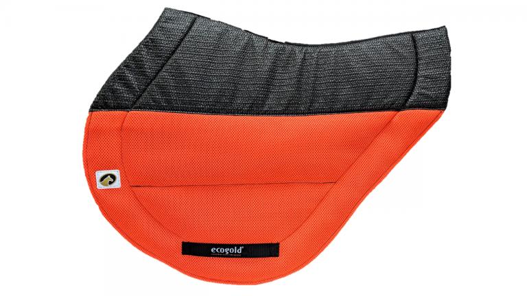 ECOGOLD® Secure™ XC Saddle Pad Neon Orange