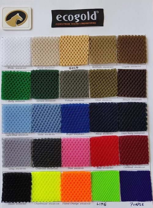 ecogold pad color swatches