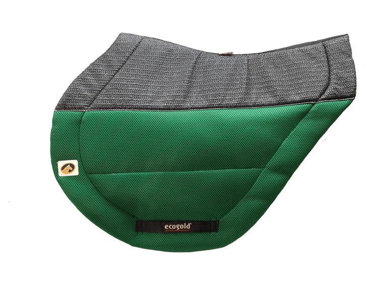 ECOGOLD Secure XC Saddle Pad Kelly Green