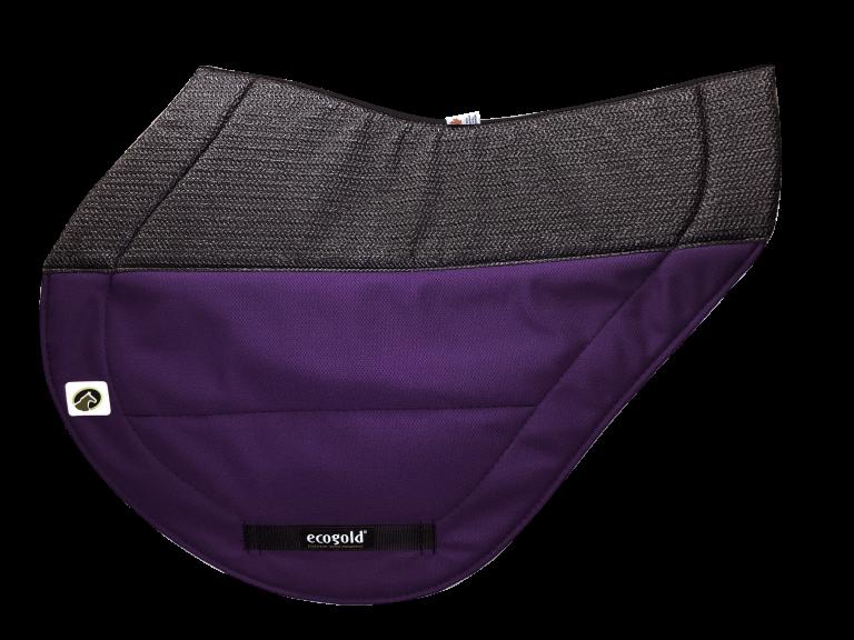 ECOGOLD Secure XC Saddle Pad Purple