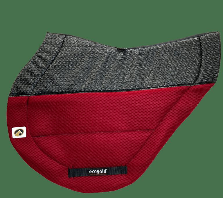 ECOGOLD Secure XC Saddle Pad Red