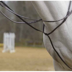 Avignon Fancy Stitch Hunter Standing Martingale Close Up On Horse
