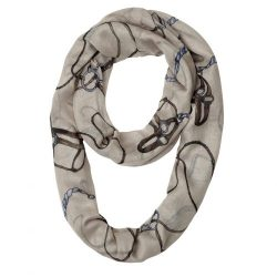 Lila Infinity Bridles Halters Irons Scarf