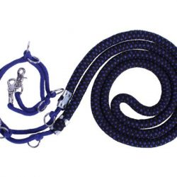 detail of qhp deluxe lunging rope