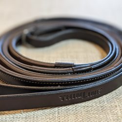 thinline leather lined english reins