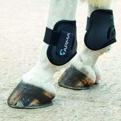 shires arma fetlock boots black