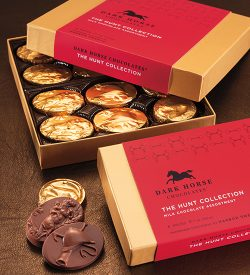dark horse chocolates the hunt collection box opened