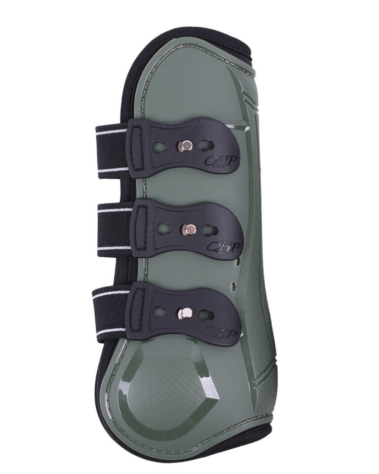 qhp champion tendon boots green