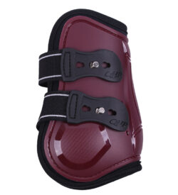 qhp champion fetlock boots burgundy