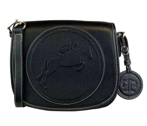 tucker tweed camden purse hunter jumper black